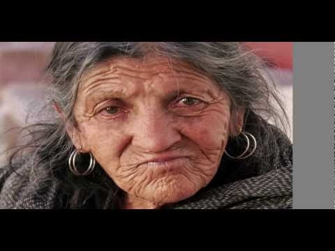 Transform Old Lady To Young Lady Photoshop HD