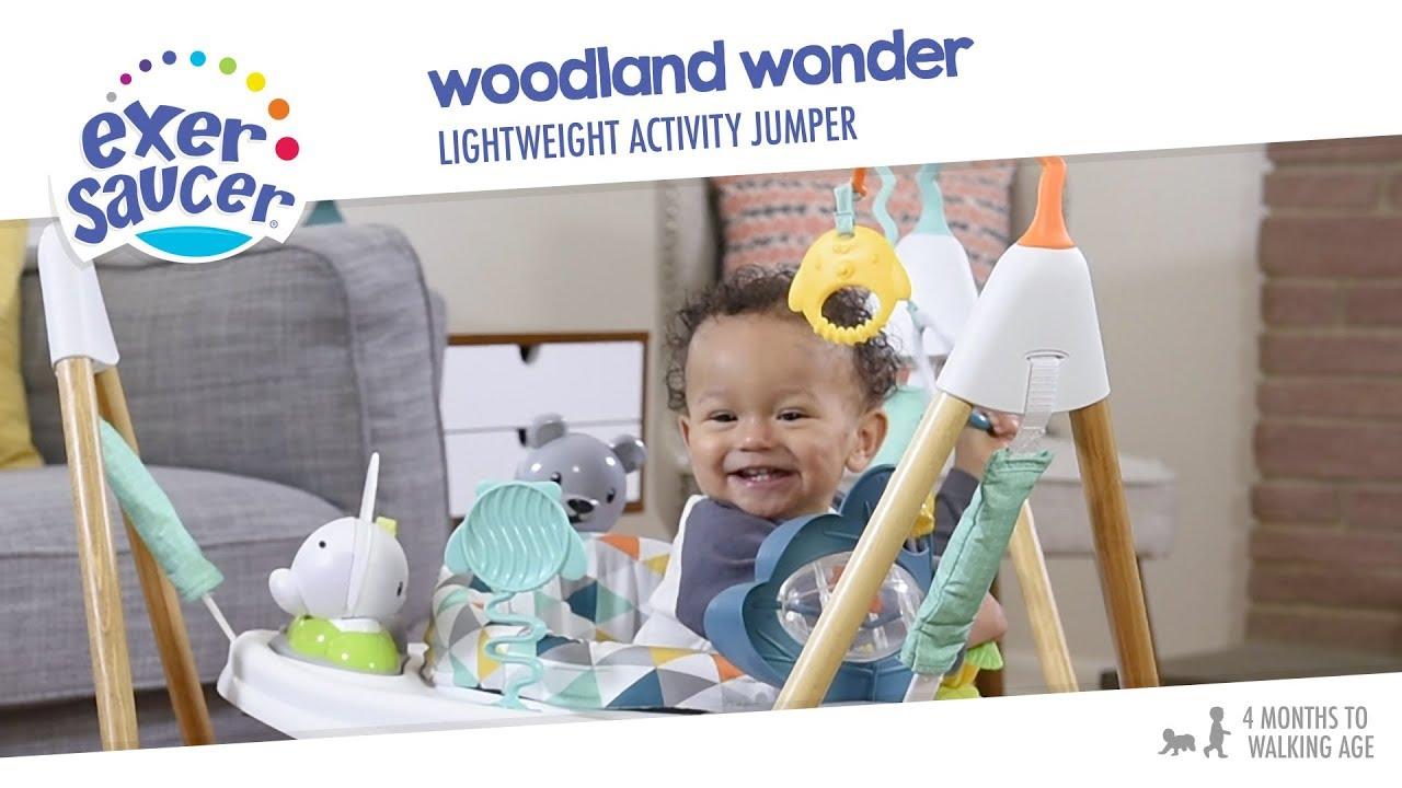 21a1e21ada8a ExerSaucer Woodland Wonder