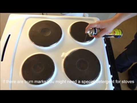 LU Accommodation - Cleaning your room: Kitchen