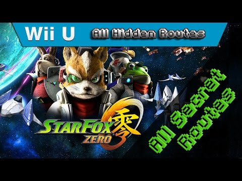 Star Fox Zero - 100% Walkthrough - All Routes & All Missions in One Video (Alternate Route Guide)