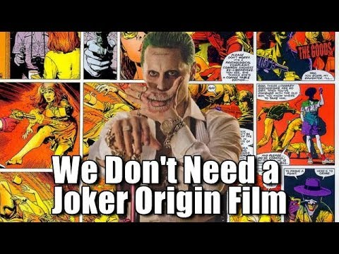 Good Rants: We Don't Need a Joker Origin Film