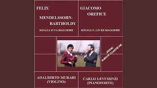 Sonata No 2 in Re maggiore: Calmo e sostenuto