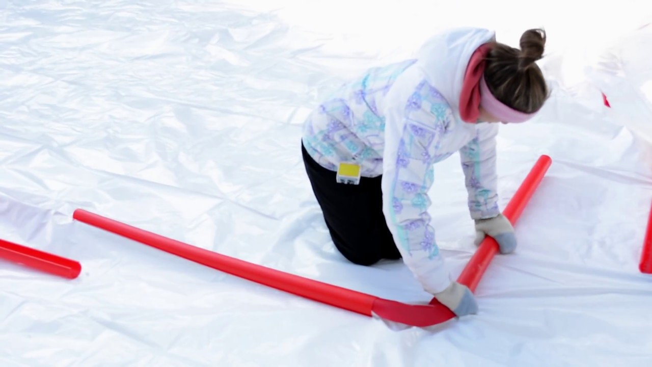 rinkmaster how to set up your backyard rink youtube