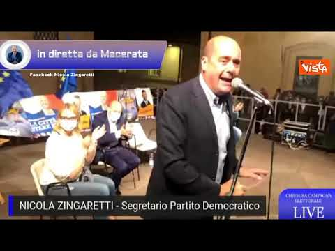 Zingaretti: 'I neo-fascisti hanno superato il limite della decenza'