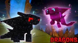 ANOTHER NIGHTFURY DRAGON BABY IS BORN - Minecraft Dragons