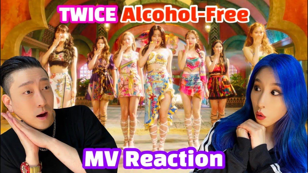 "[EN/JP/TH/ID/CN] TWICE(트와이스) ""Alcohol-Free"" M/V REACTION!Taste of Love 리액션!"