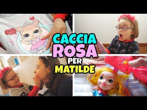 CACCIA AL TESORO ROSA a Sorpresa per Matilde