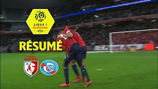 LOSC - RC Strasbourg Alsace (2-1)  - Résumé - (LOSC - RCSA) / 2017-18