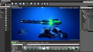 Aquanox Deep Descent - Unreal Engine 4:  Creating Ships