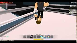 ROBLOX WWE: Curtis Axel vs Dean Ambrose United States Championship Smackdown May 16, 2014