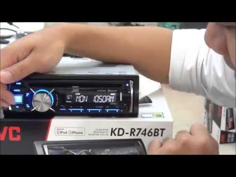 JVC KD R745,6 BLUETOOTH การต่อบลูทูธ เจวีซี ราคา 4,200 บาทBY P ONE CAR AUDIO โทร 02 9323485