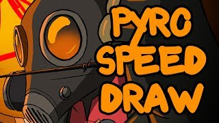 TF2: The Pyro Speed Draw (Ihasnotomato Draws)