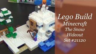 Let's Build - Lego Minecraft The Snow Hideout Set #21120