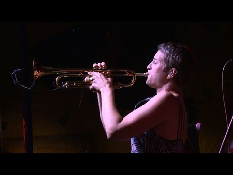 Dutch woman with a trumpet takes Colombian salsa by storm