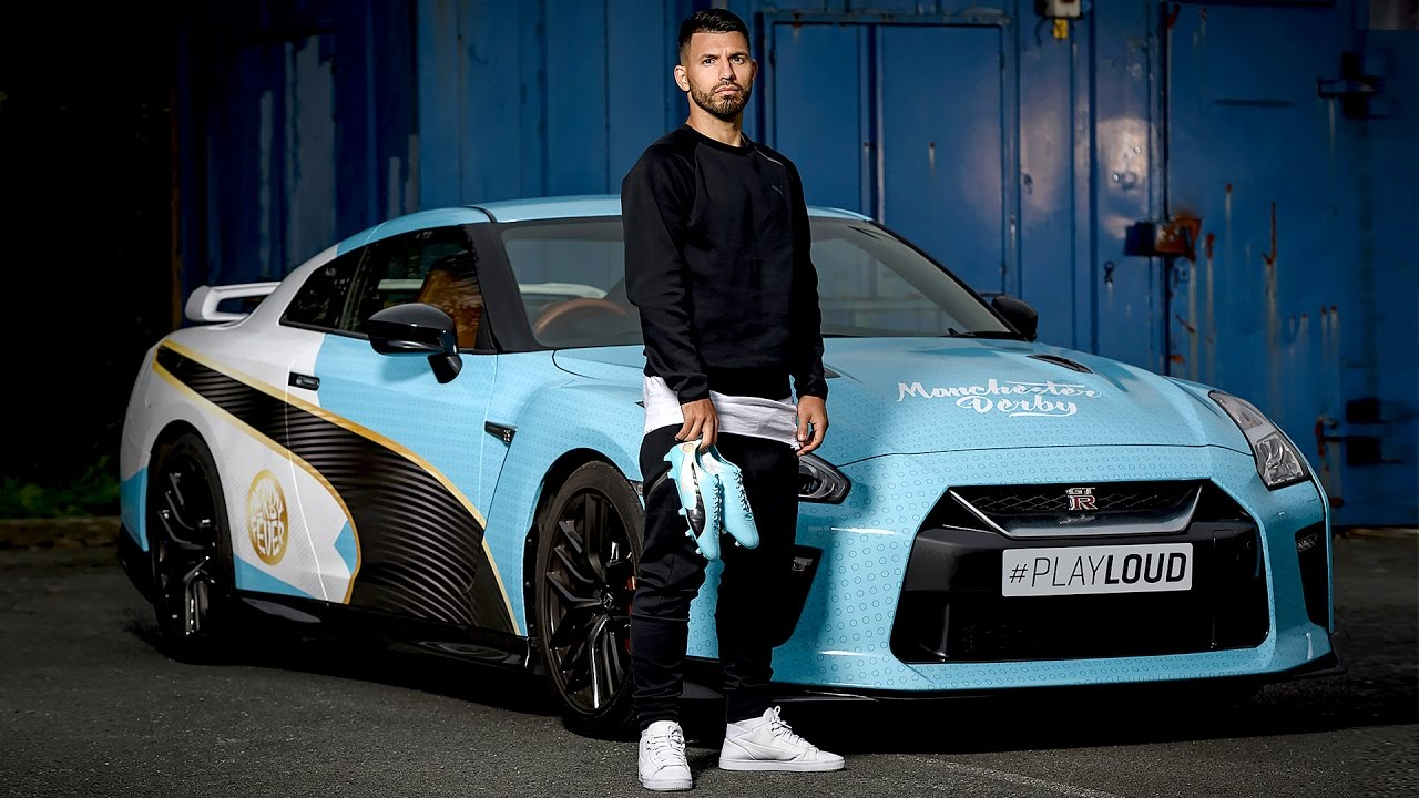 PUMA evoSPEED Car by Sergio Agüero for Manchester City ...