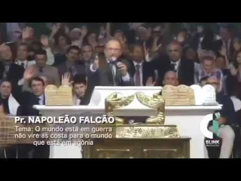 Pastor Napoleão Falcão responde ao Pr Manoel Ferreira Neto nos Gideões 2014