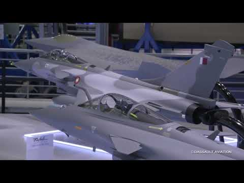 Visite du stand militaire - Salon du Bourget 2019 - Dassault Aviation