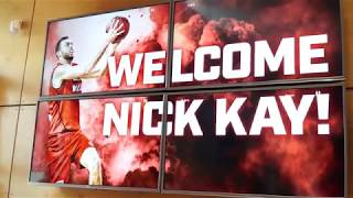 Perth Wildcats - Nick Kay's First Day - 17 July 2018