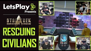 Star Trek: Bridge Crew: Rescuing Civilians With Funhaus | Let's Play Presents | Ubisoft