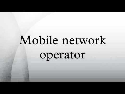 Mobile network operator