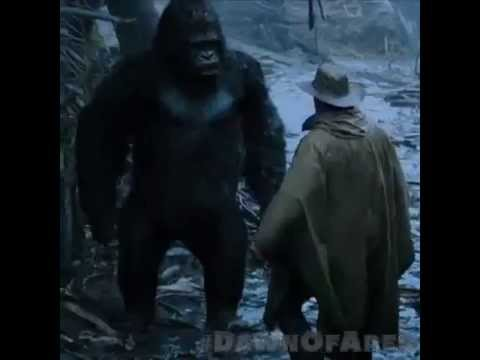 Jason Clarke Confronts A Gorilla In New Dawn of the Planet ...