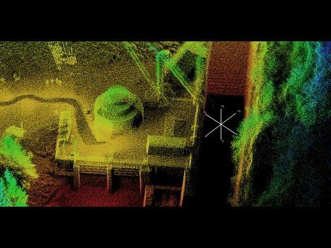 EWEB Unmanned Aerial LiDAR Scan