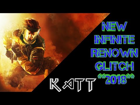 *AFTER PATCH* Rainbow Six Siege INFINITE RENOWN GLITCH ***SUPER EASY***