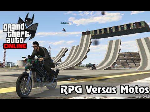 GTA V Online Versus #18: RPG Vs Motos #MontaNoAquário