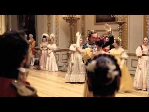 Young Queen Victoria Waltzes with Prince Albert 3 of 3.mov