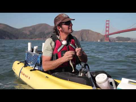 Ocean kayak fishing in San Francisco: Crissy Field to Baker Beach