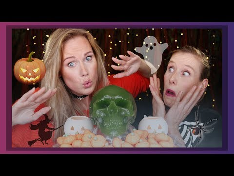 ASMR Halloween Candy Tasting with Amanda (mouth sounds)