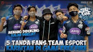 5 Tanda Fans Evos Karbitan Di Game Free Fire