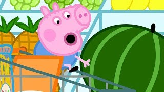 Peppa Pig Italiano | George e il gigante Anguria! | Cartoni Animati