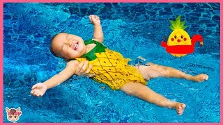 물놀이 수영장 인기 동요 놀이 Swimming Pool Nursery Rhymes Song for kids songs & children