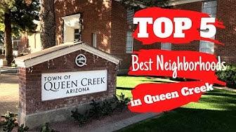 Homes in Queen Creek AZ; The Best Neighborhoods in Queen Creek
