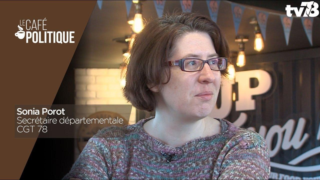 Café Politique n°64 – Sonia Porot, Secrétaire départementale CGT 78