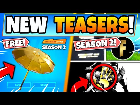 Fortnite CHAPTER 2 OFFICIAL TEASERS & *FREE* SKIN REVEALED! Season 2 New Update In Battle Royale!