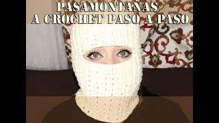 PASAMONTAÑAS A CROCHET PASO A PASO 7557ae5d813