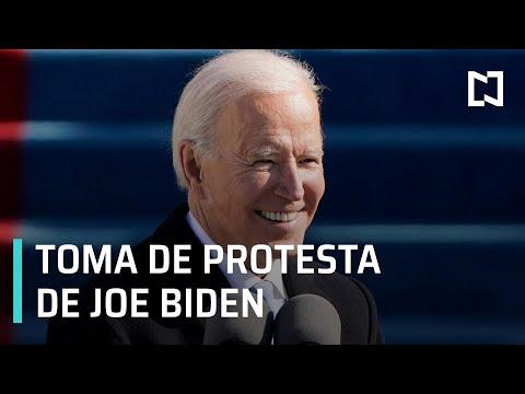 En vivo y en español: Joe Biden toma posesión como presidente de Estados Unidos