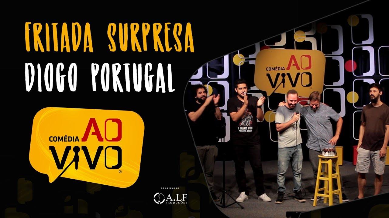 Desafio Comédia ao Vivo - Fritada Surpresa - Aniversário do Diogo Portugal