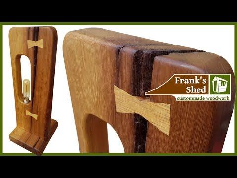 DIY | Designer Tischlampe aus Mahagoni bauen – 🔥 Franks Shed 🔥