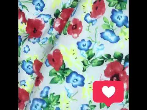 "Вискоза ""Цветы"""