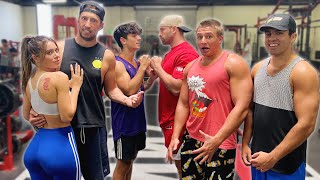 THE NIGHT SHIFT: bryce hall confronts bradley martyn