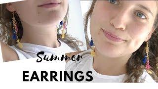 Easy Summer earrings