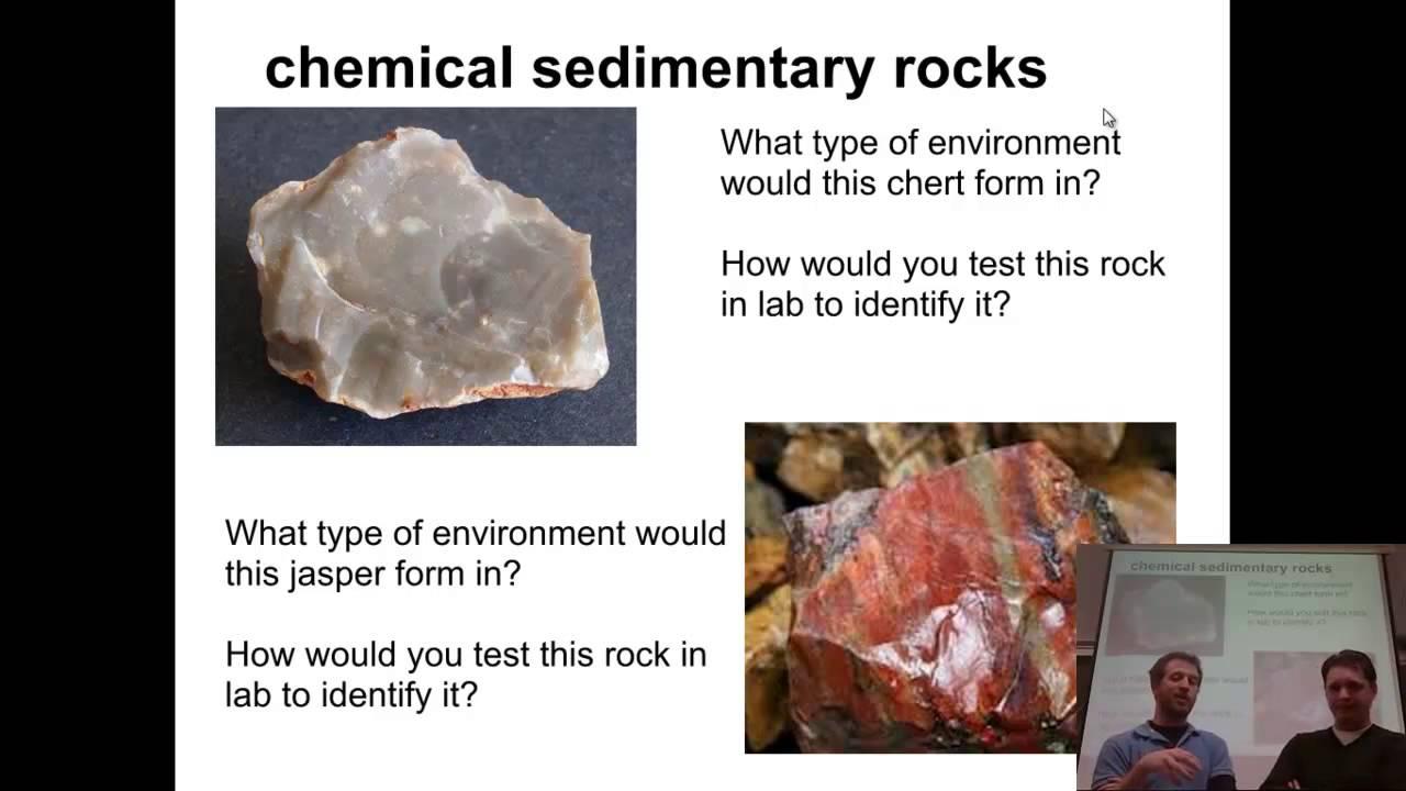 Chemical & organic sedimentary rocks - YouTube