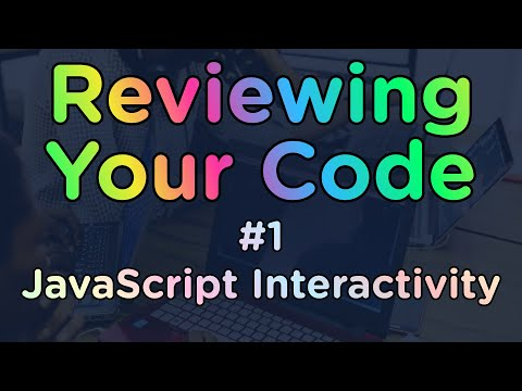 Code Review - JavaScript Interactive Web Page