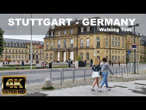 🇩🇪 STUTTGART | GERMANY | 4K Walking Tour