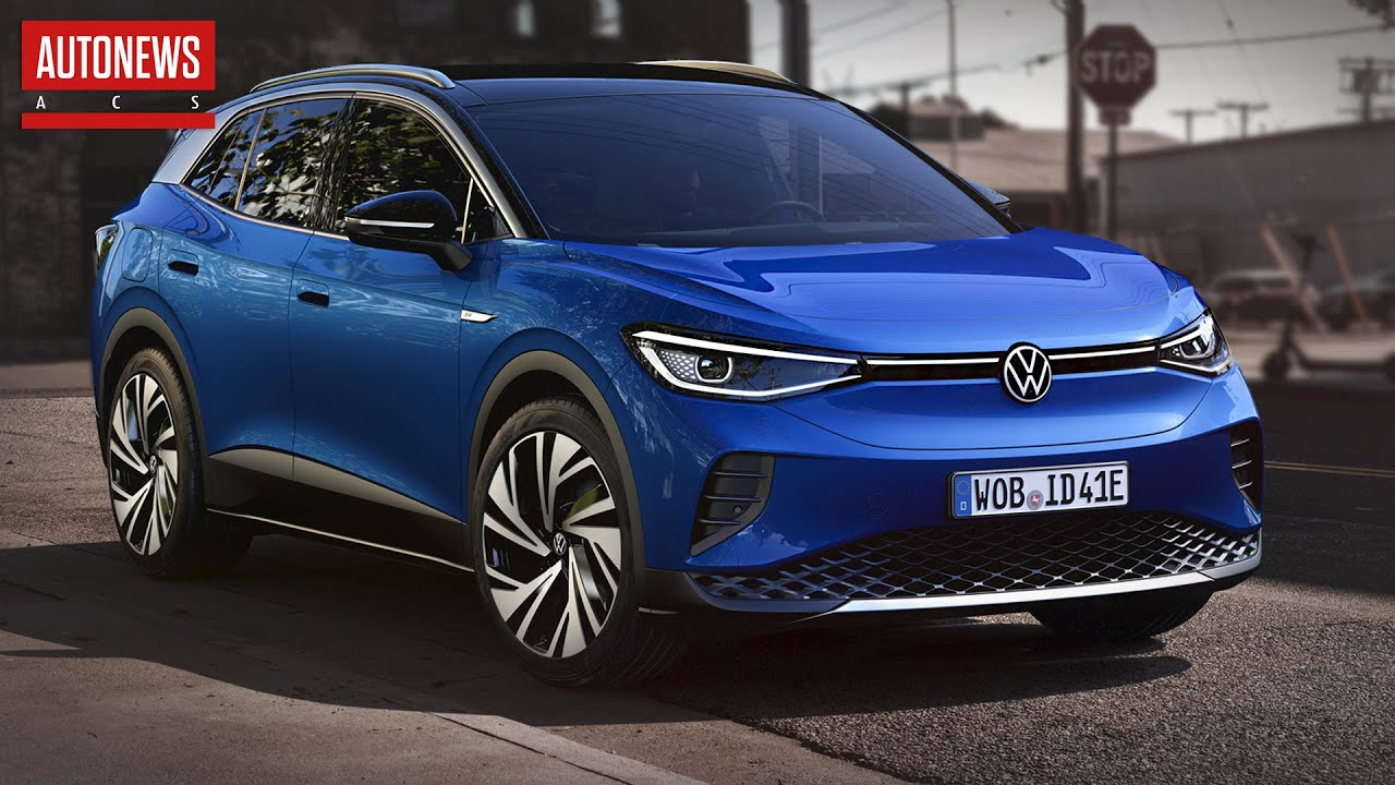 Volkswagen ID.4 (2020): первый электрический кроссовер марки! Все подробности