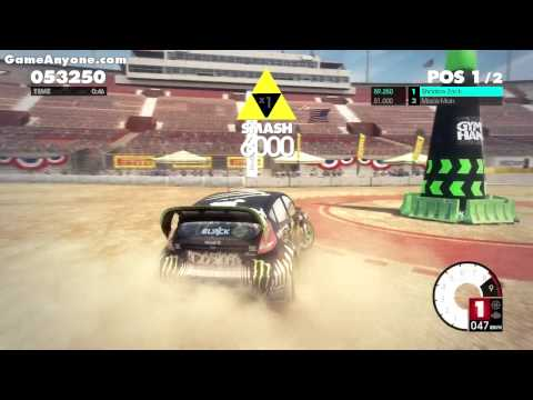 DiRT 3 - Online Gymkhana Gameplay 1