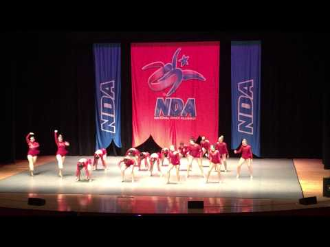 DePaul University Dance Team NDA National College Competition-2015